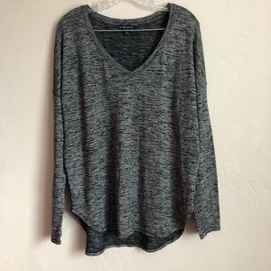 4/$25 Rock & Republic Heathered Grey Tunic